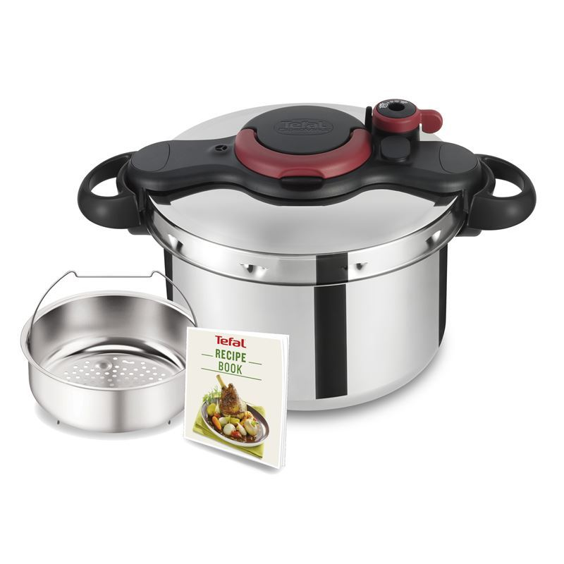 Tefal – Clipso Minut Easy Stainless Steel Pressure Cooker 7.5Ltr (Made in France)