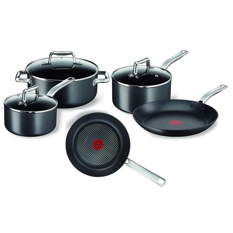 Tefal – Prograde Titanium Non-Stick 5pc Cookware Set