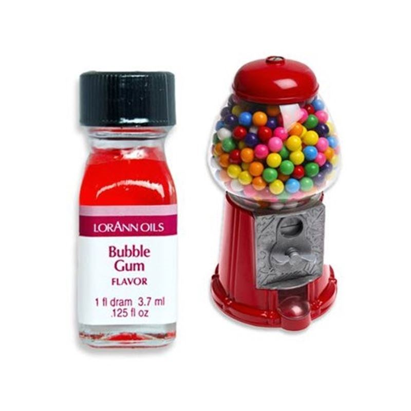 LorAnn Oils – Bubble Gum Flavour 1 Dram 3.7ml (Made in the U.S.A)