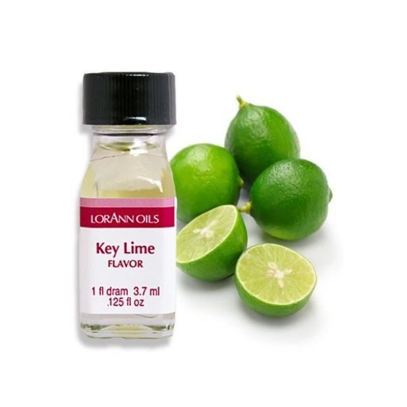 LorAnn Oils – Lime Oil Flavour 1 Dram 3.7ml (Made in the U.S.A)