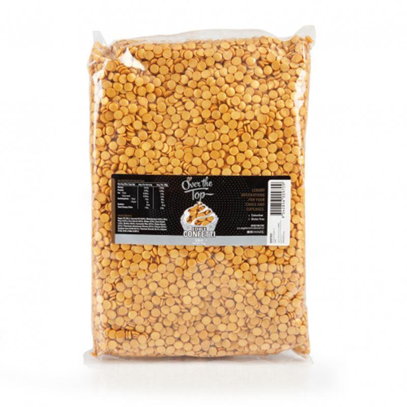 Over the Top – Confetti Gold Bulk 1kg
