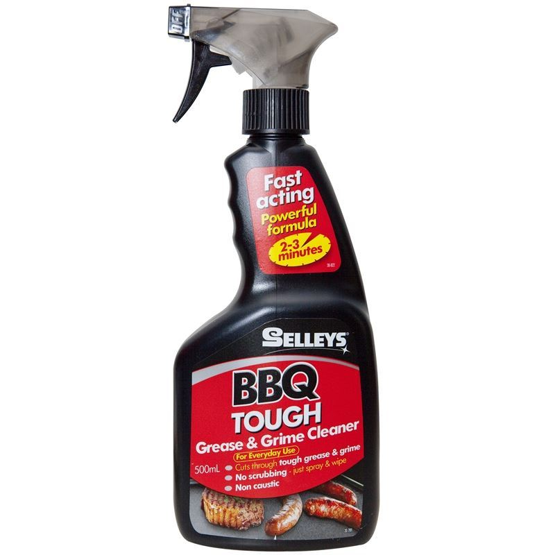 Selleys – BBQ Tough Grease and Grime Cleaner 500ml Trigger Bottle