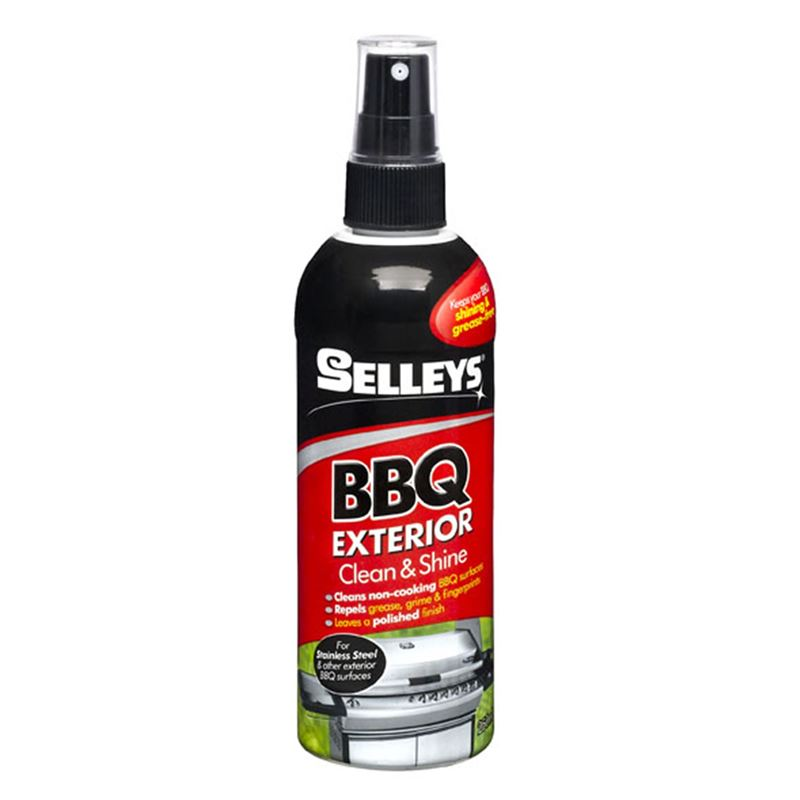 Selleys – BBQ Exterior Clean & Shine 250ml Pump Spray Bottle