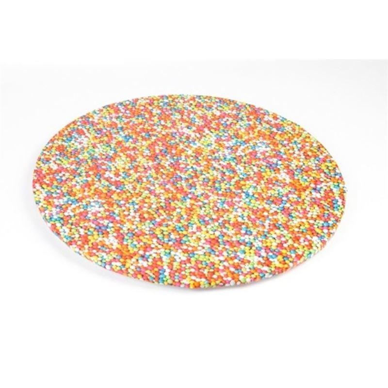 Mondo – Cake Board Round Sprinkles 30cm