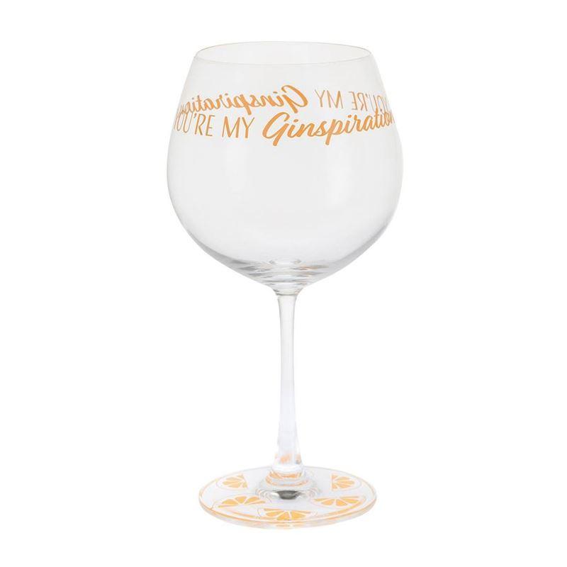 Dartington Crystal – Gin Time You're my Ginspiration 640ml Glass in Tin