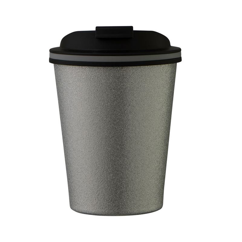 Avanti – GOCUP Double Wall Stainless Steel Coffee Cup 280ml Glitter Silver