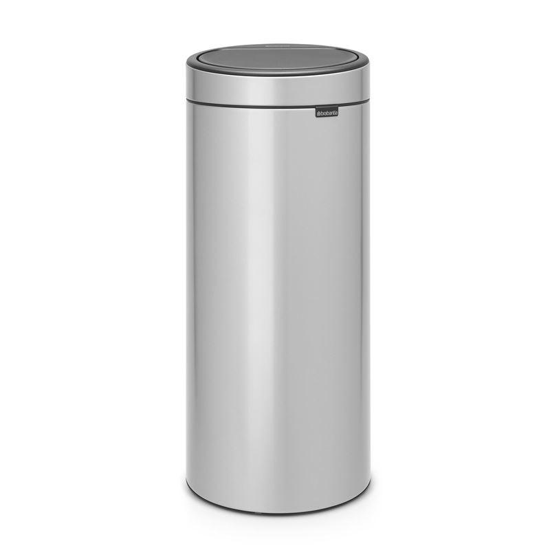 Brabantia – Touch Bin 30Ltr Metallic Grey