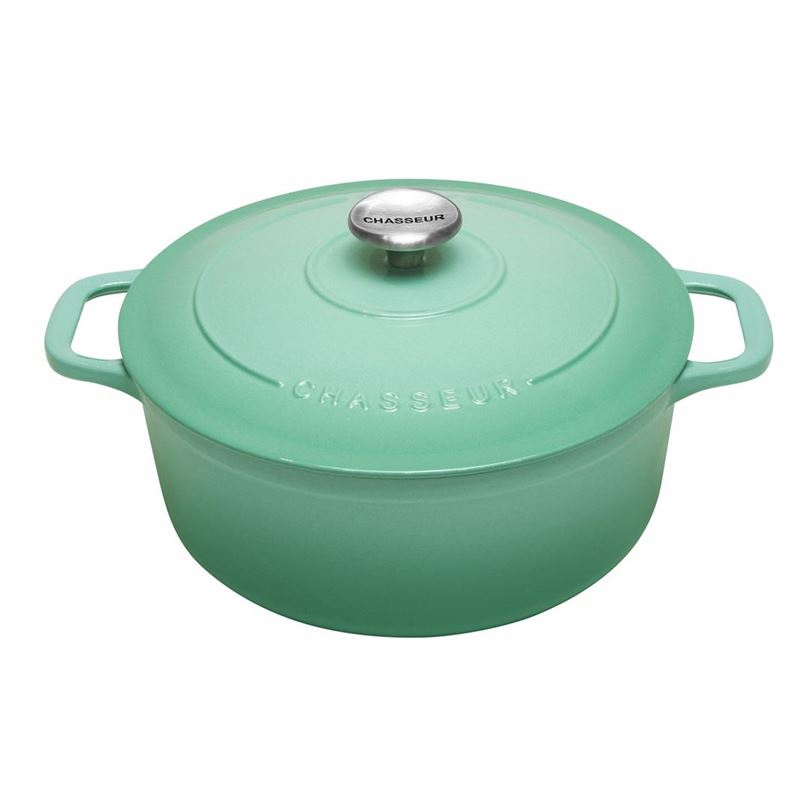 Chasseur Cast Iron – PeppermintRound French Oven 26cm 5Ltr (Made in France)