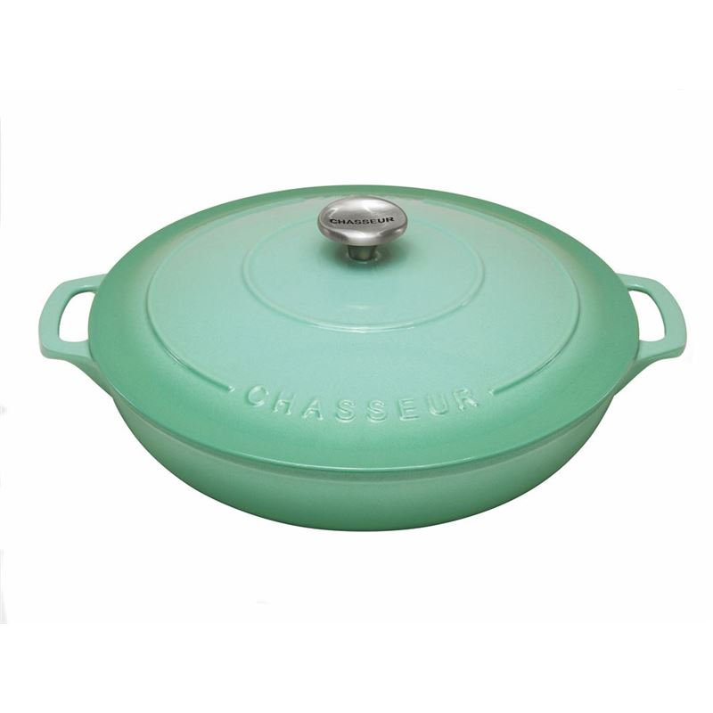 Chasseur Cast Iron – Peppermint Round Buffet Casserole 30cm 2.5Ltr (Made in France)