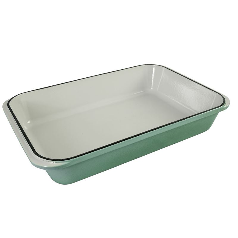 Chasseur Cast Iron – Peppermint Rectangular Roaster 40x26cm (Made in France)