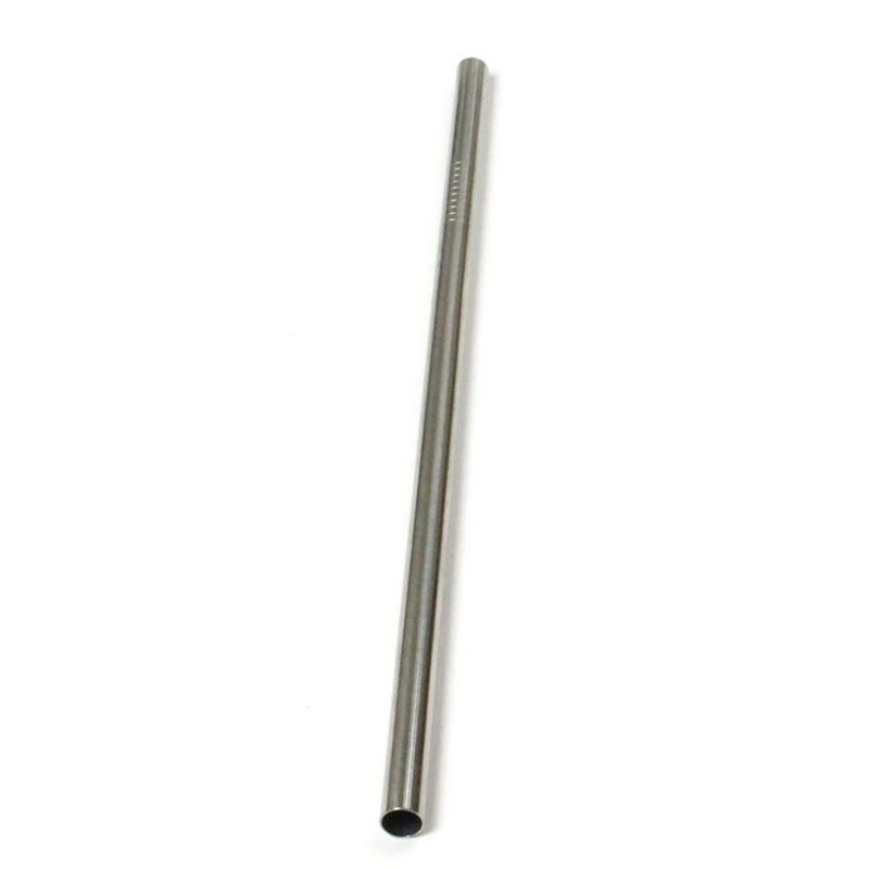 Appetito – Stainless Steel Straight Smoothie Drinking Straw