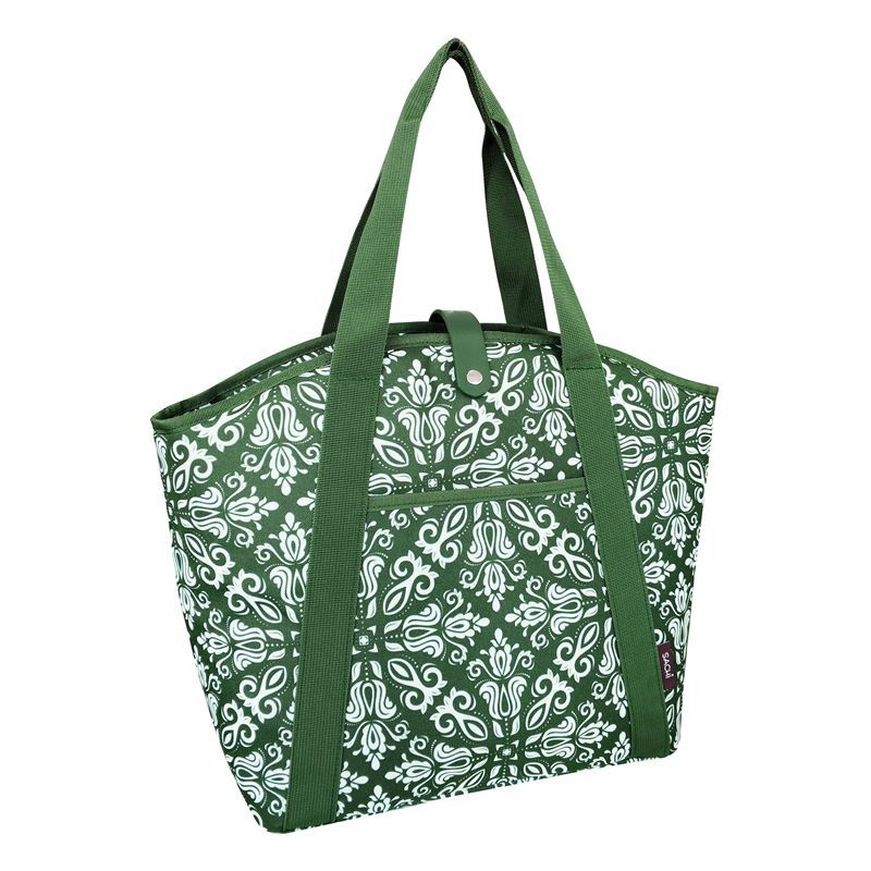 Sachi – Insulated Cooler Shopping Bag Bohemian Green