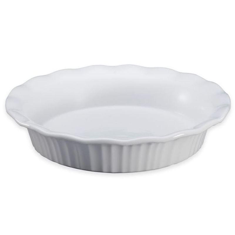 CorningWare French White -Pie Plate 27×5.5cm