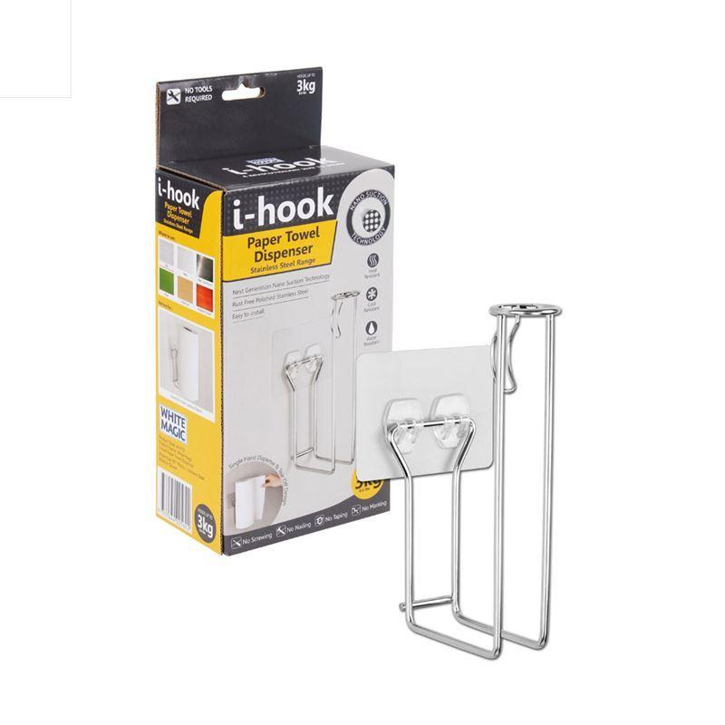 White Magic – i-Hook Paper Towel Dispenser