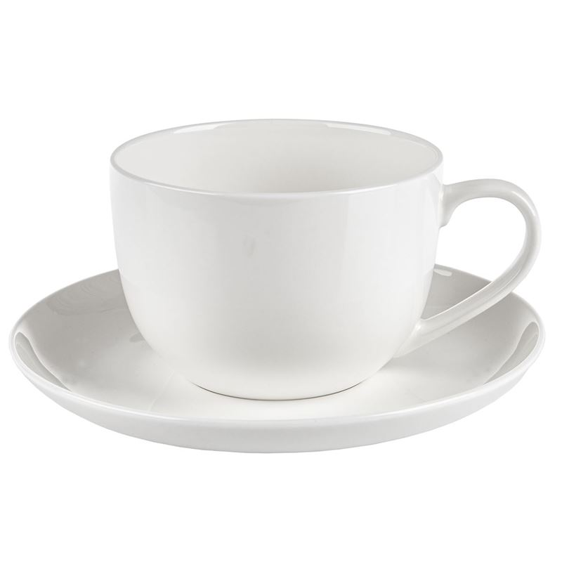 Zuhause – Zaha Premium Fine Bone China Breakfast Cup and Saucer