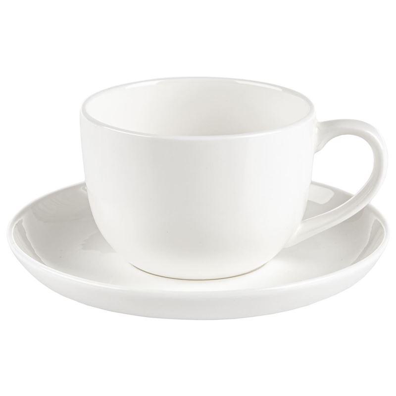 Zuhause – Zaha Premium Fine Bone China Espresso Cup and Saucer Set 130ml