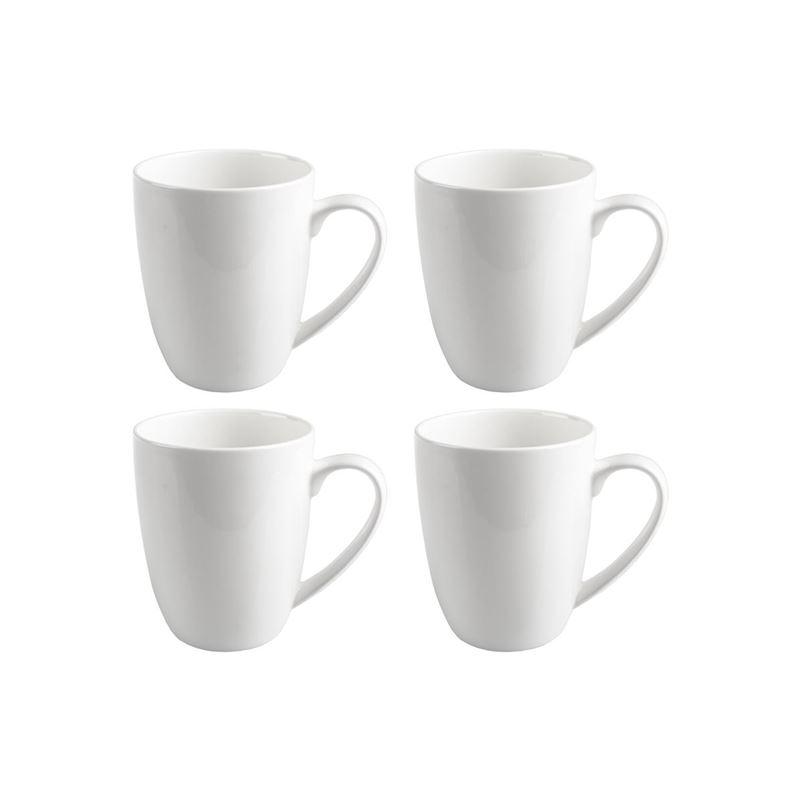 Zuhause – Zaha Premium Fine Bone China Set of 4 Coupe Mug