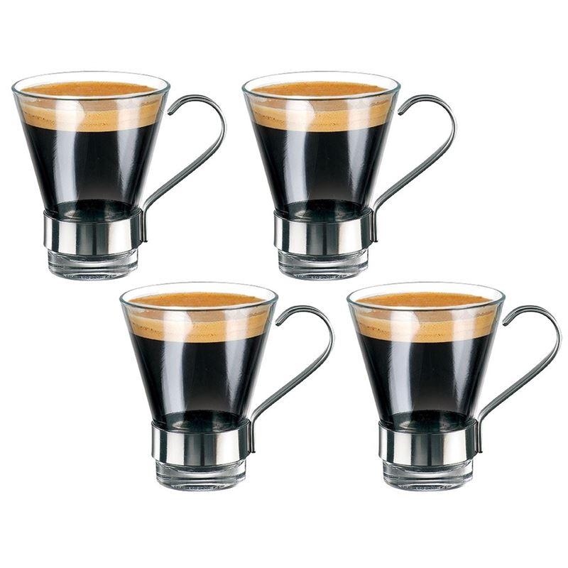 Bormioli Rocco – Roma Espresso Glass 110ml Set of 4 (Made in Spain)