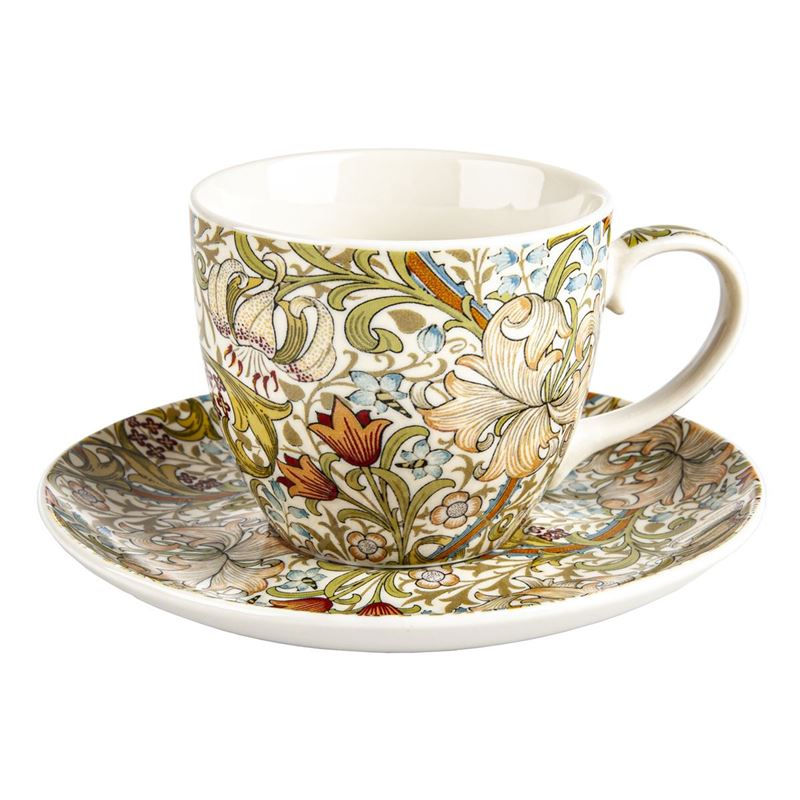 Nostalgic – Fine China Cup and Saucer Golden Lily 260ml
