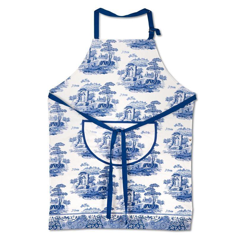 Spode by Pimpernel – Blue Italian Cotton Drill Apron 70x95cm