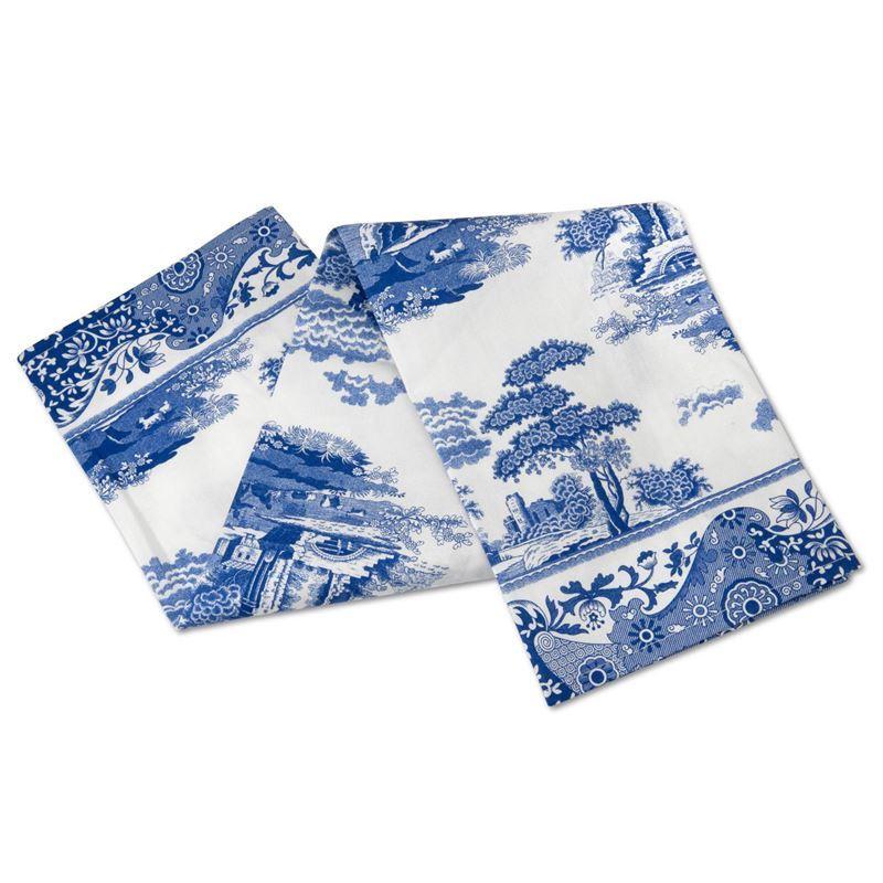 Spode by Pimpernel – Blue Italian Tea Towel 45x74cm