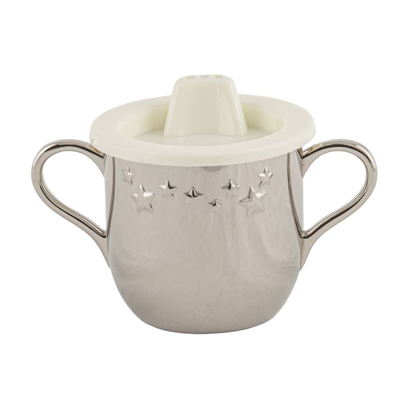 Whitehill – Silver Plated Twinkle Star 2 Handled Child's Cup