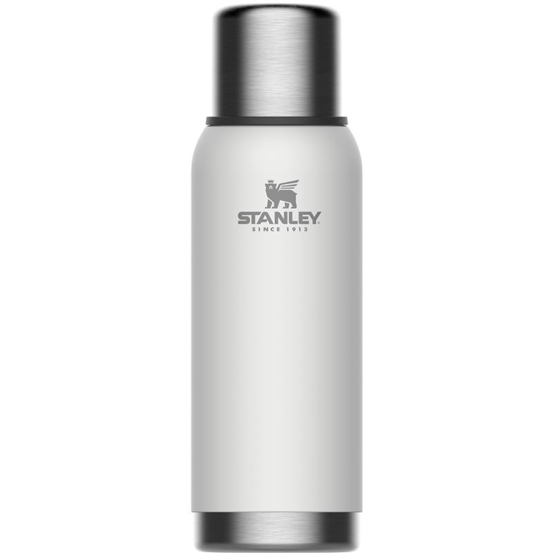 Stanley – Adventure Series Polar White Double Wall Vacuum Insulated Bottle 1Ltr