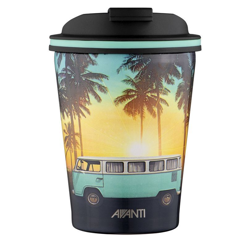Avanti – GOCUP Double Wall Stainless Steel Coffee Cup 280ml Summer Combi