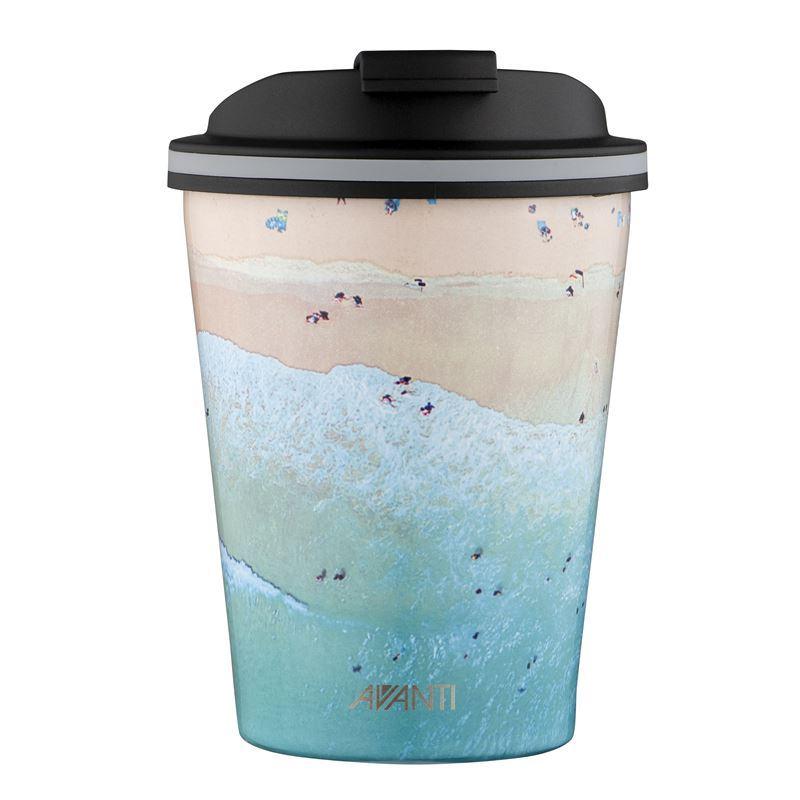 Avanti – GOCUP Double Wall Stainless Steel Coffee Cup 280ml Bondi Beach