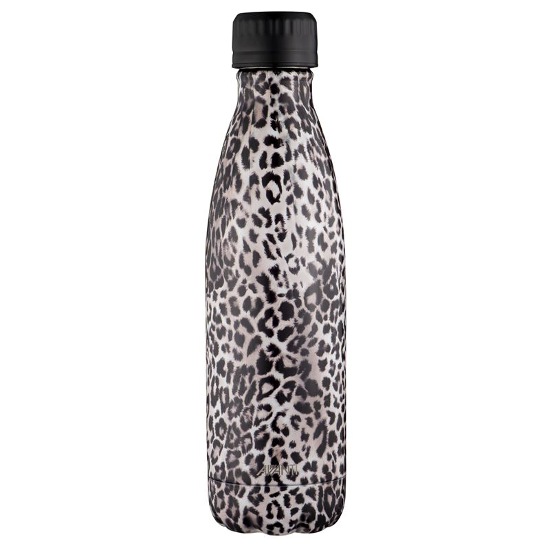 Avanti – Fluid Vacuum Stainless Steel Bottle 500ml Leopard
