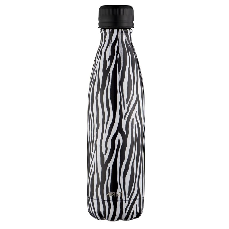 Avanti – Fluid Vacuum Stainless Steel Bottle 500ml Zebra
