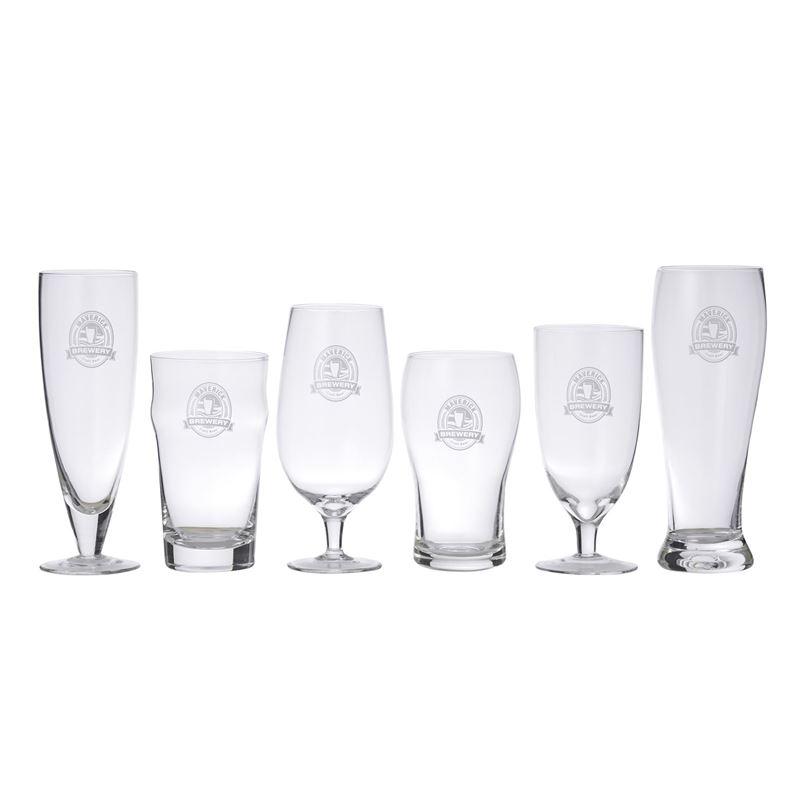 Davis & Waddell Maverick – 6pc Beer Connoisseur Glass set