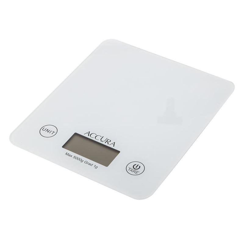Accura – Atlas Electronic Kitchen Scale White