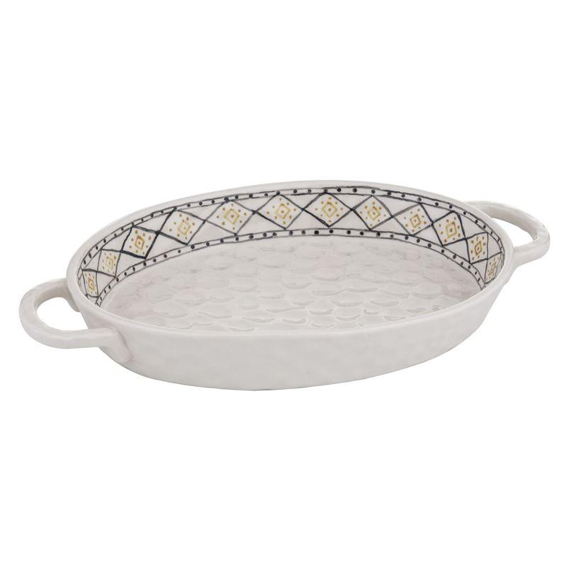 Amalfi – Ethnique Oval Serving Dish 31.5x18cm