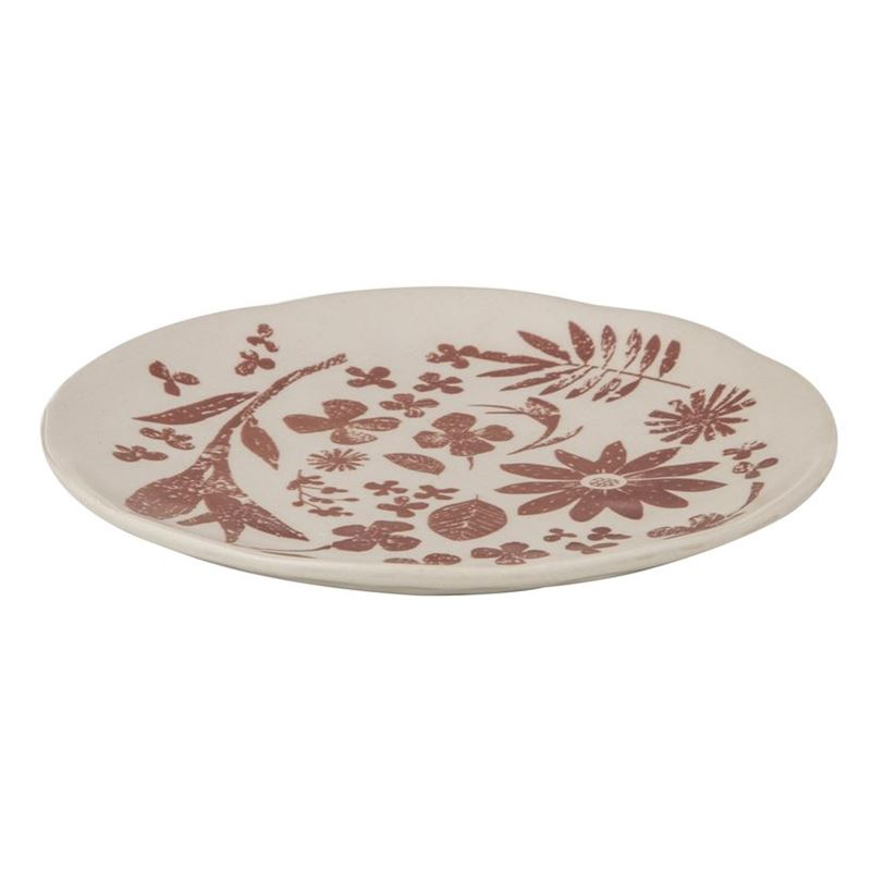 Davis & Waddell – Idyll Serving Plate 20.5cm Terracotta Red