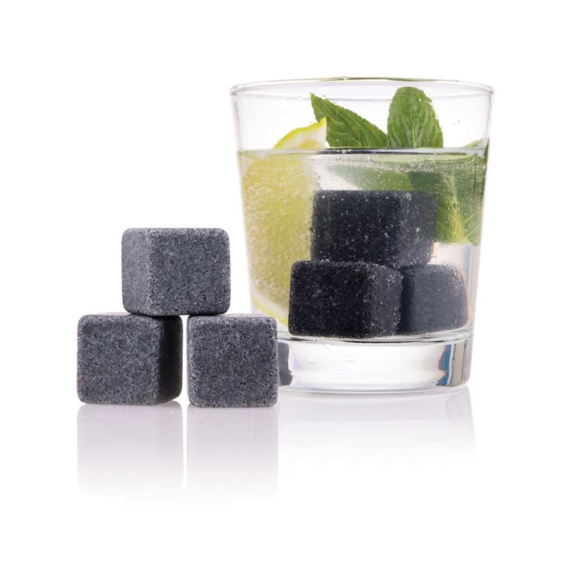 Bartender – Gin Stones set of 6 with Storage Pouch
