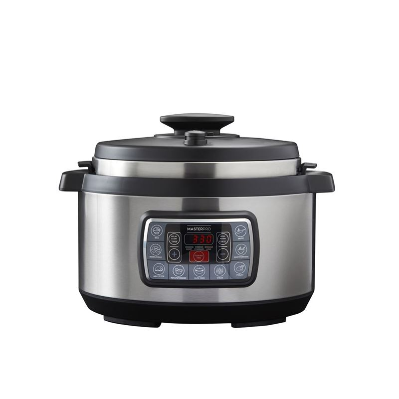 MasterPro – Electrical Extra Large 8Ltr 12 in 1 Ultimate Cooker
