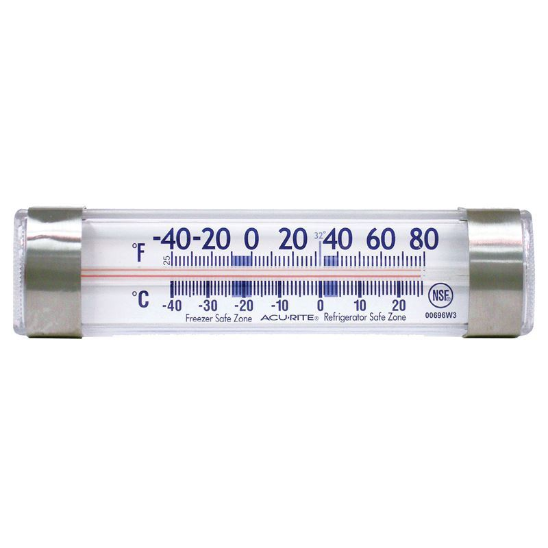 'Acu- Rite' – Refrigerator or Freezer Thermometer Bar