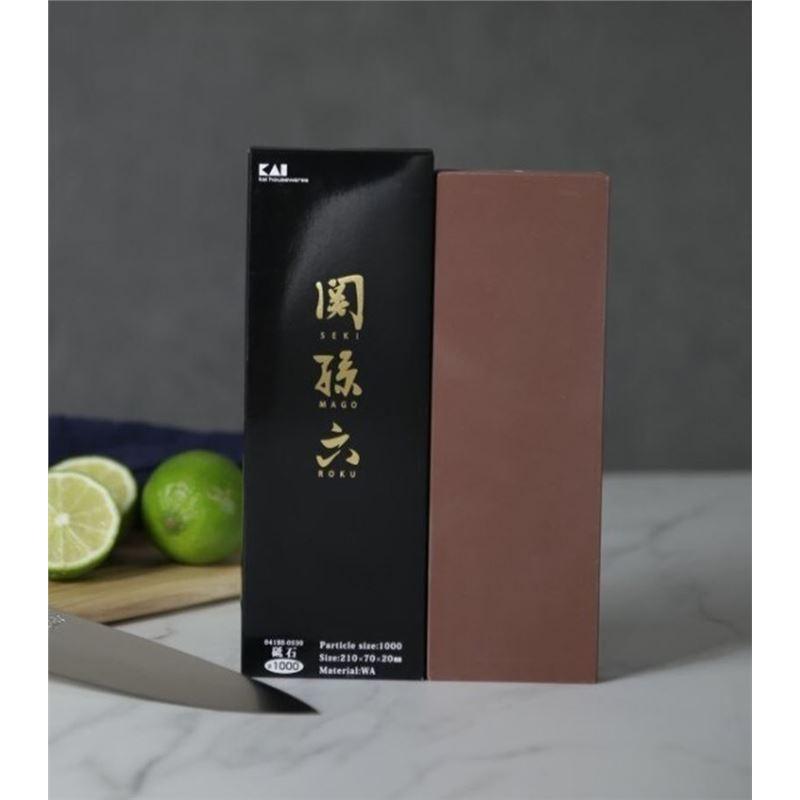 KAI – Seki Magoruku 1000- Grit Whetstone (Made in Japan)