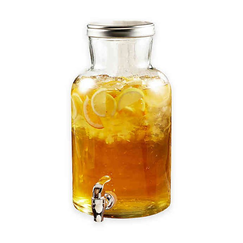 Circleware – High Sierra 5.6Ltr Glass Beverage Dispenser with Metal Lid