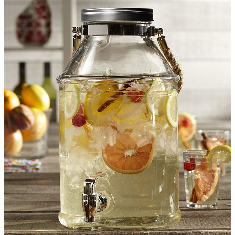 Circleware – Maxwell 6.4Ltr Glass Beverage Dispenser