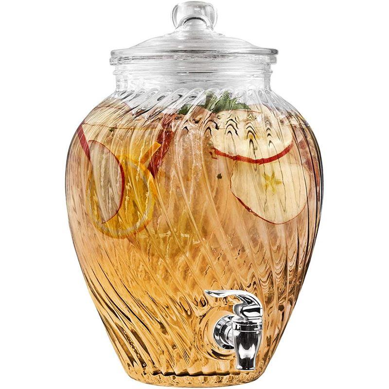 Circleware – Kelsey 5.9Ltr Glass Beverage Dispenser