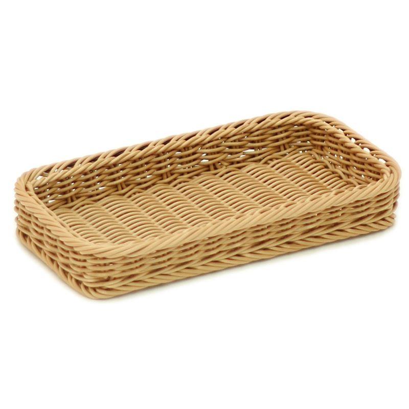 IconChef – Woven Basket Bread Tray 31x17x4cm