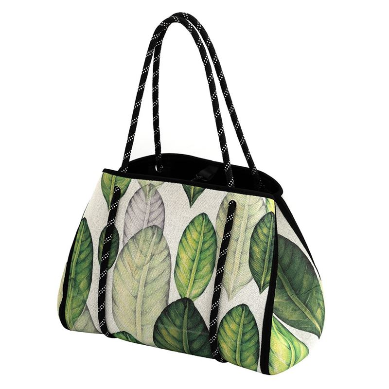 Iconchef – Neoprene Market Tote Leaves 22Ltr