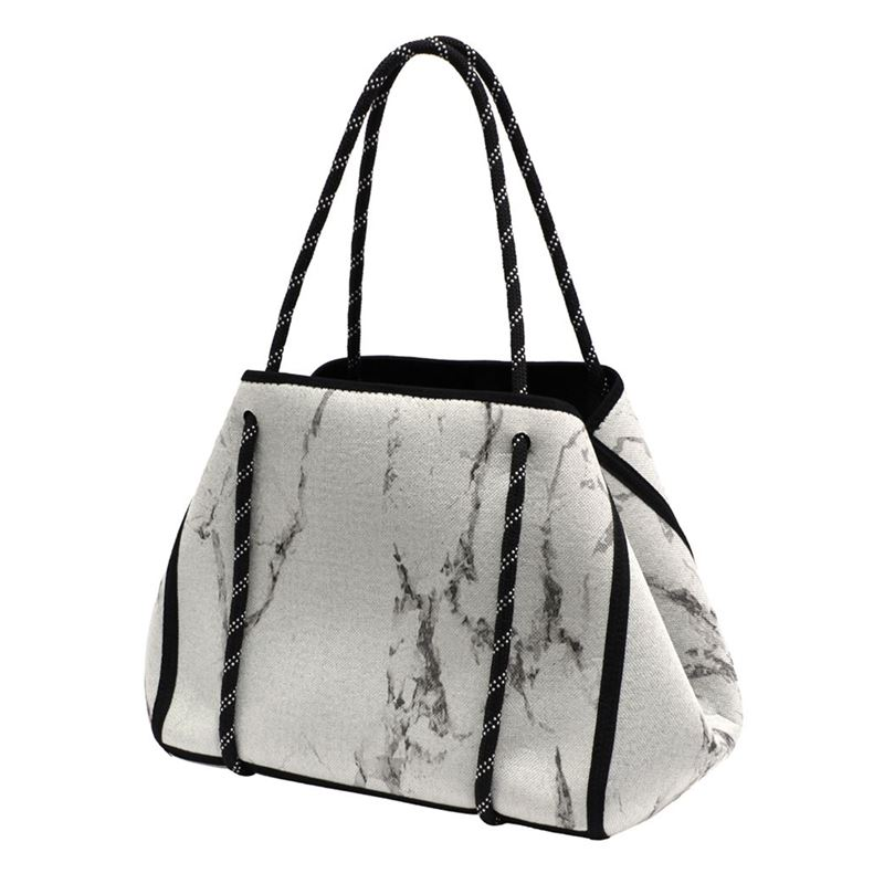 Iconchef – Neoprene Market Tote White Marble 22Ltr