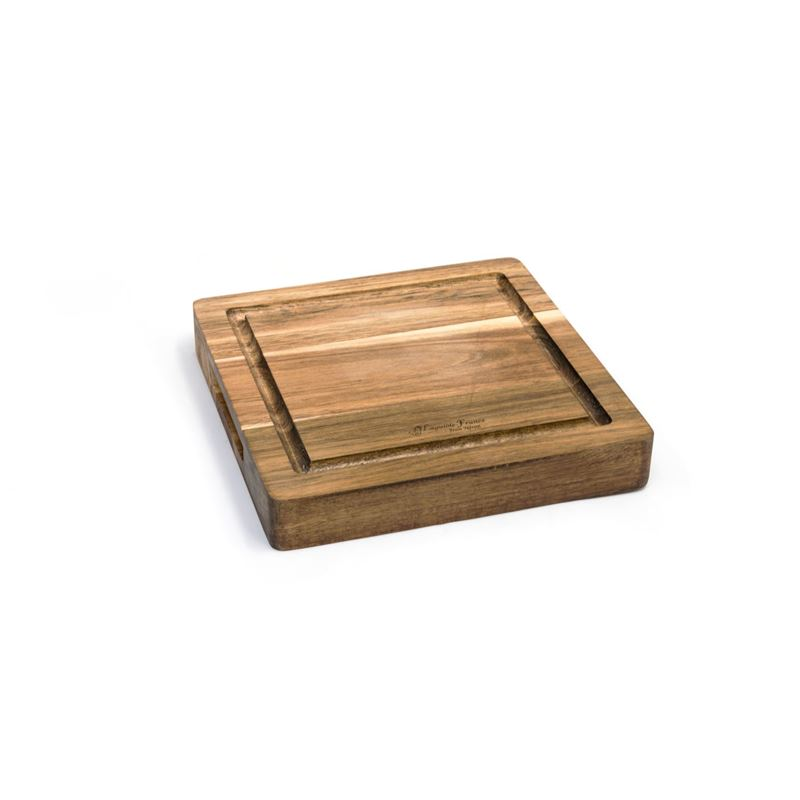 Laguiole Jean Neron – Acacia Wood Reversible Serving Chopping Board 25x25x4cm