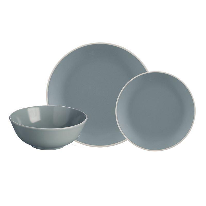 Mason Cash – Classic 12Pc Stoneware Dinner Set Grey