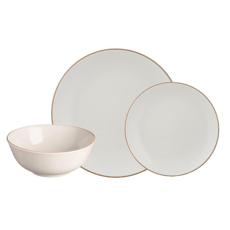Mason Cash – Classic 12Pc Stoneware Dinner Set Cream