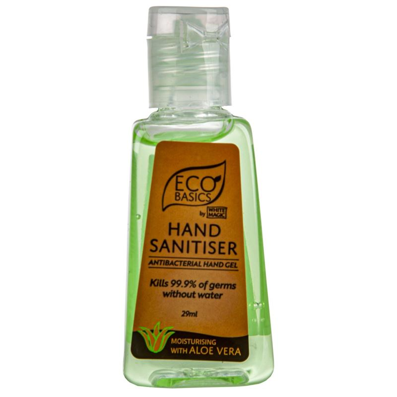 Eco Basics by White Magic – Hand Sanitiser Gel 29ml Pocket Pack