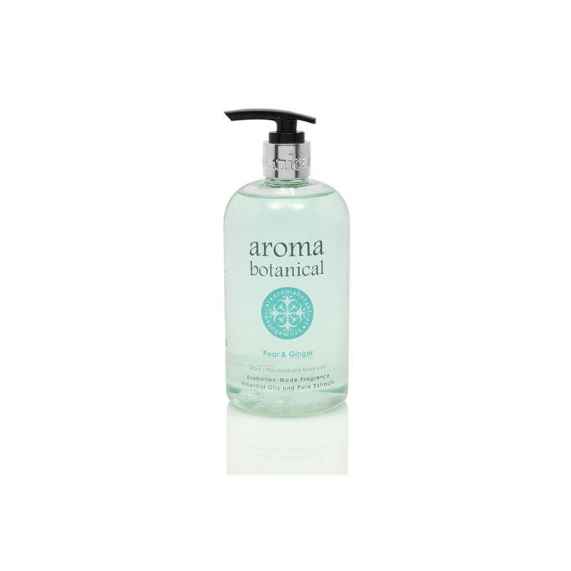 Aromabotanical – Hand & Body Wash 500ml Pear & Ginger